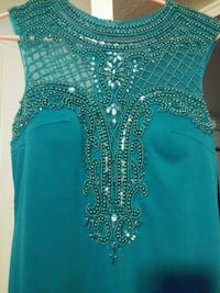 Emerald Green Teal Prom Dress Las Vegas, 89104