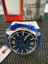 MEN'S CARAVELLE BY BULOVA CHRONOGRAPH WATCH. Los Angeles, 90063