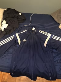Blue adidas zip up sweater Toronto, M1E 4Z5