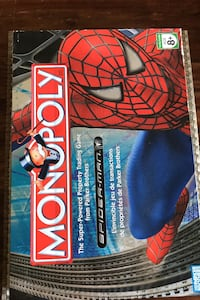 Spider-Man Monopoly Game