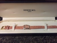 Raymond Weil watch Opel face with ten diamonds regular price $4500 selling for $1000 3710 km