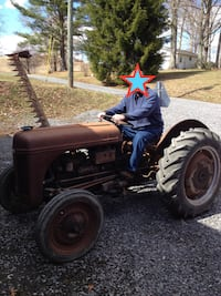 1939 Ford Ferguson 9N Tractor with Side mount mower and 3pt hitch mounted scoop for sale or trade Rockville