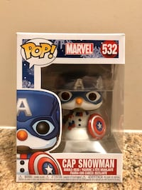Cap Snowman - Marvel Funko Pop!