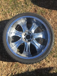 22 inch rims All chrome Owings Mills, 21117