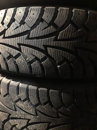 215 65 R17  Hankook Winter Pike Tires Bolt pattern: 114.3, 5 lug
