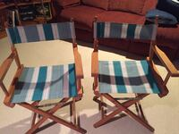 Directors Chairs, Great condition, new upholstery, make an offer Glenshaw, 15116