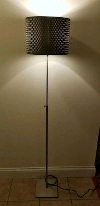 Silver Lamp with LED Bulb Chicago, 60640