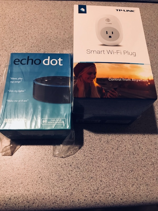 New Echo Dot & TP-Link Smart Plug