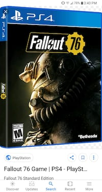 Fall out 76 ps4 Apopka, 32703