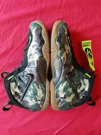 Nike Foamposite (camo) VNDS sz10 og all New York