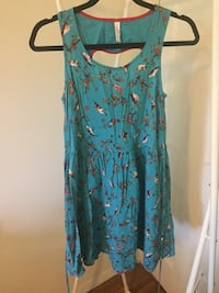 $5 Blue Printed Dress with pockets Los Angeles, 90036