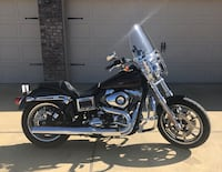 black and chrome touring motorcycle