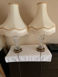 End Table Lamps  Crystal Base Mississauga, L5C 1G2