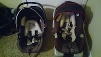 baby's black and gray car seat carrier Houston, 77090