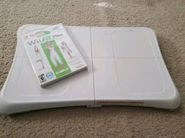 Wii fit game and board