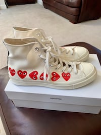 Converse Play - Comme des Garçons (high top) Woodbridge, 22193