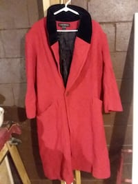 2 WOMEN'S COLD WEATHER COATS, 1 Red 1 Deep Purple,  both for 1 price - Make An Offer, Price Negotiable Charlotte, 37036