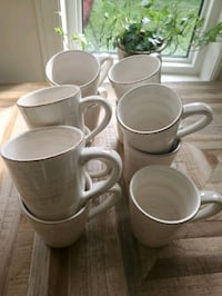 Set of 10 coffee mugs NEW never used  Newmarket, L3Y