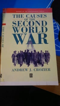 The causes of second world war-andrew crozier