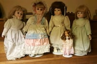 Porcellan dolls each 12 La Habra, 90631
