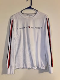 White Tommy Hilfiger Men's Long Sleeve Hagerstown, 21740