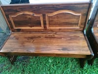 Brown Wooden 2 Seat Bench for Sale. Virginia Beach, 23462