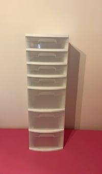 STERILITE 7 DRAWER PLASTIC CONTAINER