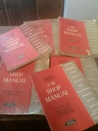 1970 Ford Lincoln Mercury All Models Manual Set  Hanover, 17331