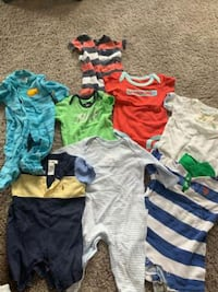 clean Baby cloths lot