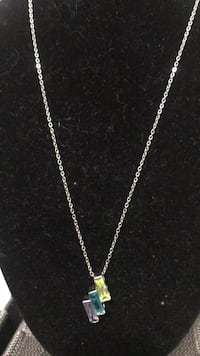 prestige 3 stone necklace Sterling Heights, 48313
