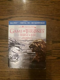 Game of Thrones Blue Ray disk set. 7 seasons Mississauga, L5C 1Y3