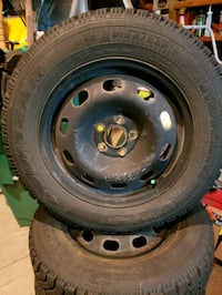 black bullet hole vehicle wheel and tire Mississauga, L5N 7R4