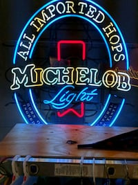 blue and red Bud Light neon signage Spring City, 37381