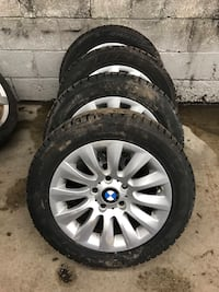 BMW original winter set 205/55/16 Markham, L3T 6K6