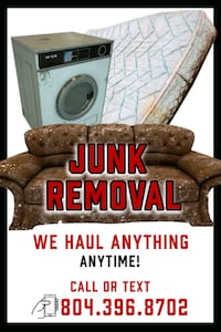 Junk Removal $90 per load Richmond