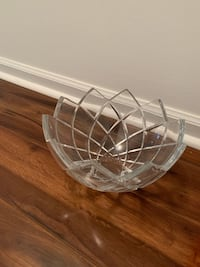 Crystal Serving Bowl - Heavy Good Quality