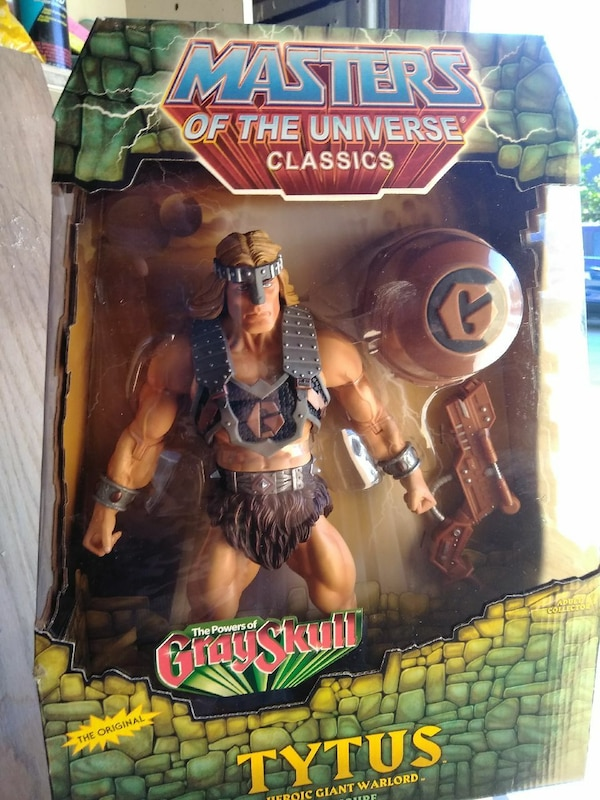 Masters of the Universe classics Tytus action figure pack