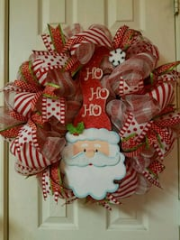 Santa face wreath  Burleson, 76028