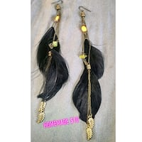 black and yellow beaded necklace Spruce Grove, T7X 0A7