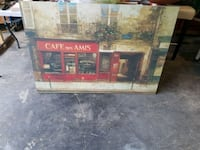 Cafe De AMIS painting West Kelowna, V4T 2R2