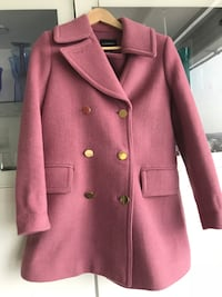 Women's pink double-breasted coat size small Mississauga, L4W 2G1