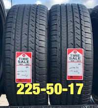 2 used tires 225/50/17 Goodyear Sp Houston, 77047