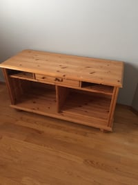REAL WOOD PINE TV STAND Calgary