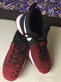 pair of black-and-pink Nike running shoes Wesley Chapel, 33545