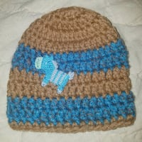 Hand knitted baby boy hat  Caledonia County, 05851