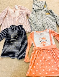 4/5 years old girl clothes and shoes
