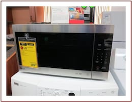 Reconditioned LG 2.0 Cu Ft Neochef Counter Top Microwave LMC2075ST/00