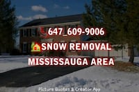 Snow plowing Mississauga