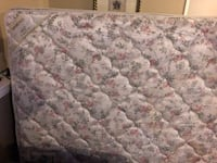 Queen mattress w/ new unopened box spring if needed  Calgary, T3J 2N8