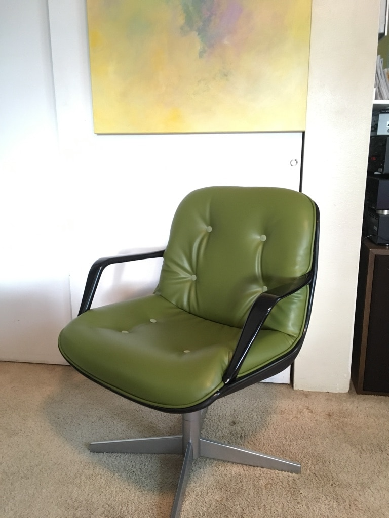 used charles pollock for knoll inspired steelcase exec chair for rh us letgo com